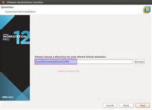 vmware linux machine how to install vmware workstation 12 on ubuntu 16 04