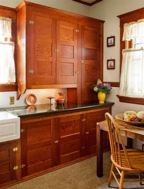 craftsman style kitchen cabinets mission style kitchens kitchen design ideas