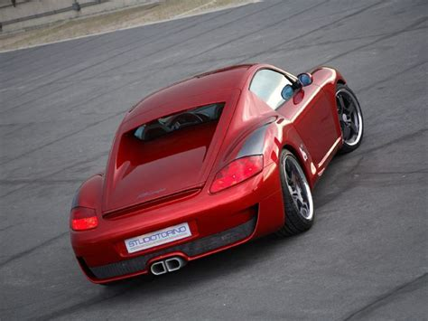 Porsche Tuner by Porsche Cayman Coupe By Studiotorino Porsche Tuning