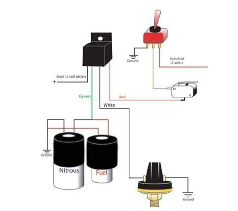 nitrous wiring diagram wiring diagram and schematic