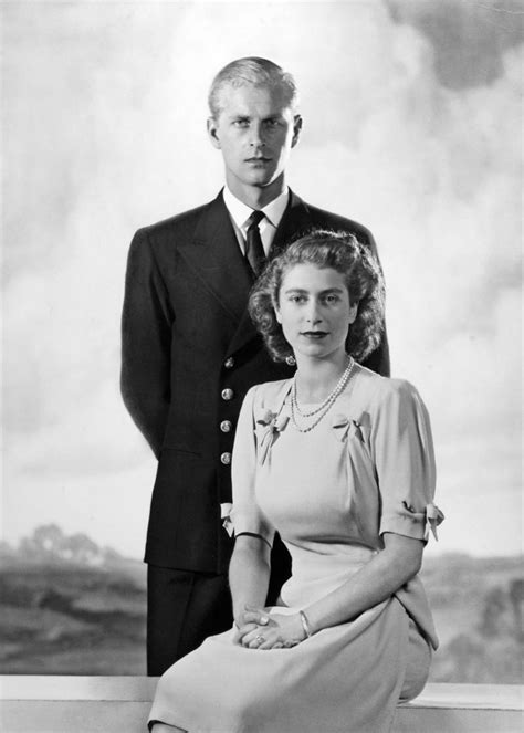 Princess Elizabeth and Prince Philip of Greece and Denmark