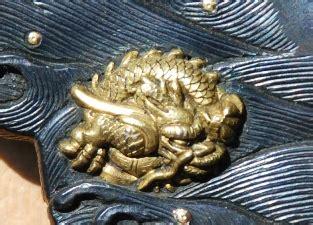haircut taka boston dragon on waves tsuba