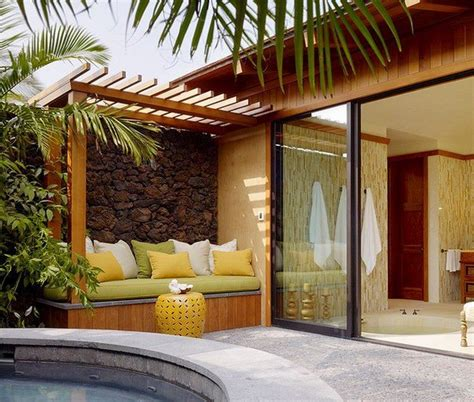 Modern terrace design ? cool lounge furniture outdoor