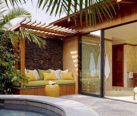 Modern terrace design ? cool lounge furniture outdoor