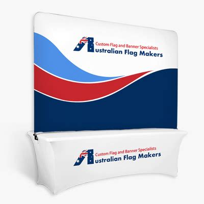 table top banner custom flags and banners by australian