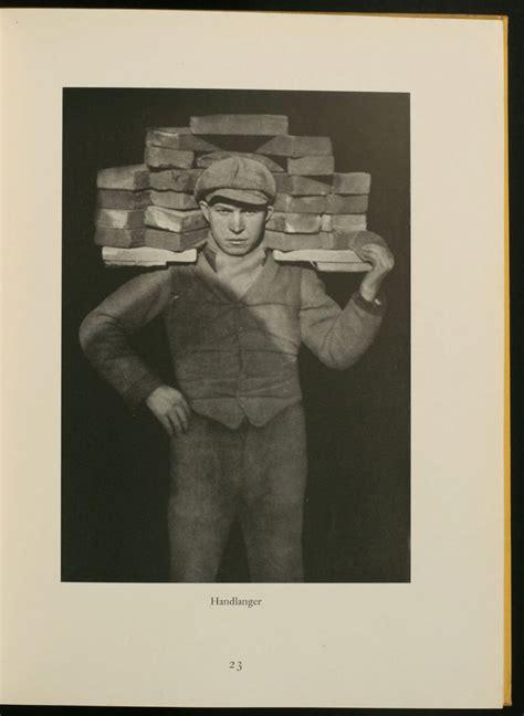 libro august sander face of antlitz der zeit 60 fotos deutscher menschen face of our time august sander 1st edition