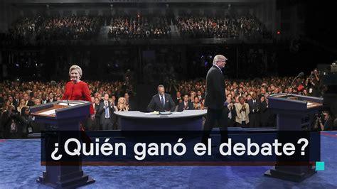 quien gan la eleccion presidencial de mexico yahoo 191 qui 233 n gan 243 el debate presidencial trump o clinton