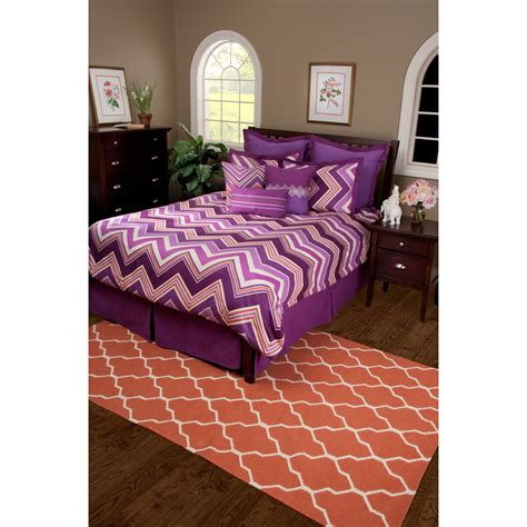 hippie bed sets rizzy home hippie chic plum comforter bed set bedding
