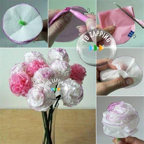 flores en papel seda paso a paso c 243 mo hacer claveles de papel de seda paso a paso