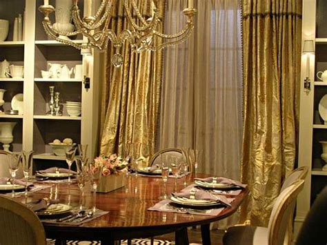 elegant curtains for dining room interior design and more elegant dining