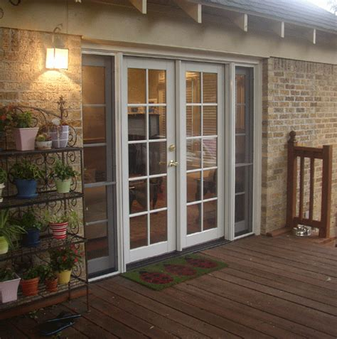 Patio Door Styles Patio Door Installation In Dallas From The Window