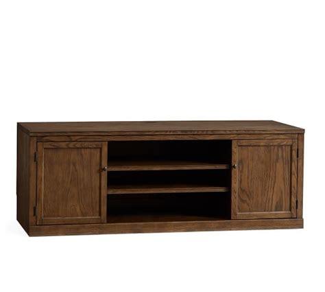 pottery barn tv cabinet logan large tv stand mahogany stain pottery barn