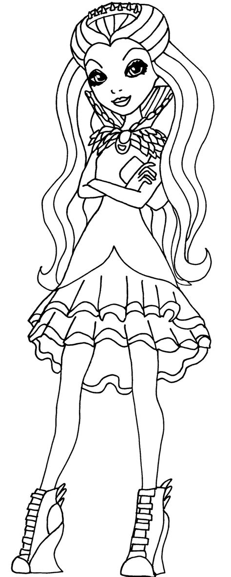 bunny blanc coloring pages ever after high raven queen coloring pages coloring