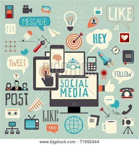 Social Media Poster 4 T Shirt social media sign logo and symbol post like follow