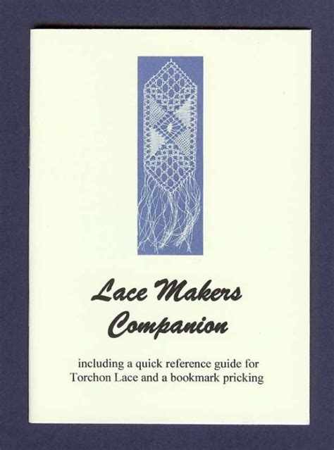 bobbin lace stitches and techniques a reference book of the basics books the lacemakers companion note book