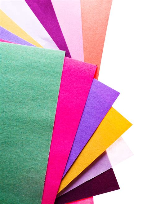 colorful paper colourful papers png image pngpix