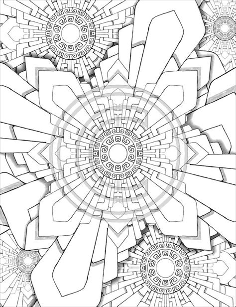 neat coloring pages | Linear Perspective | Pinterest