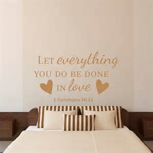 Wall Stickers Bible Verses Bible Verse Quotes Wall Decal Let Everything You By