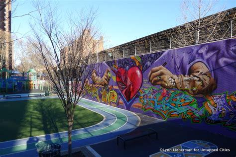 street art hotspot east harlems graffiti hall  fame
