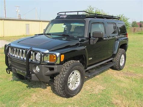 hummer jeep black find used custom hummer h3 loaded 4x4 black gobi jeep h1