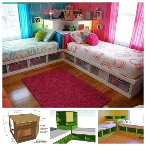 Room Designs For Teenage Girls best 25 corner twin beds ideas on pinterest kids beds