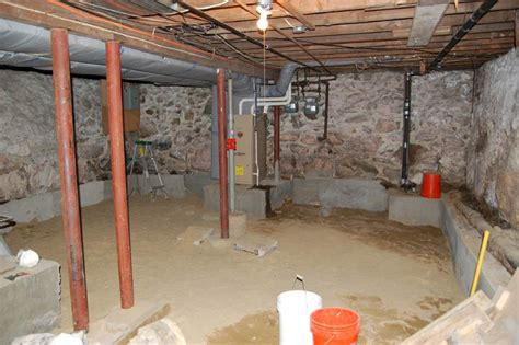 can you add a basement to a house already built basement underpinning toronto concretepros