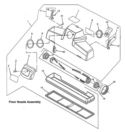 kirby vacuum parts diagram lifter diagram free engine image for user manual