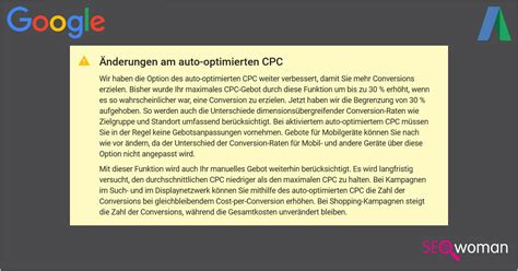 Auto Optimierter Cpc by Adwords Auto Optimierter Cpc 30 Begrenzung