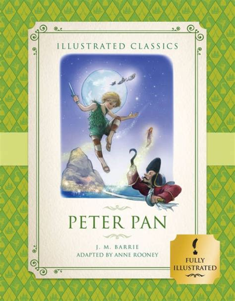 peter pan illustrated with 0062362224 peter pan illustrated classics for children by anne rooney j m barrie hardcover barnes