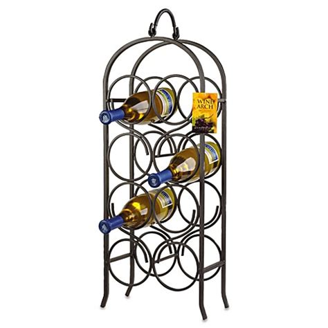wine rack bed bath and beyond buy oenophilia arch 8 bottle wine rack from bed bath beyond