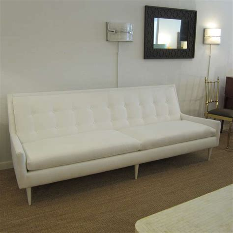 1950s flared arm sofa at 1stdibs