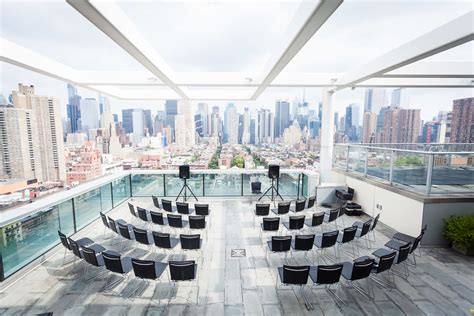 rooftop wedding venues nyc prices beautiful and modern ink 48 wedding new york wedding