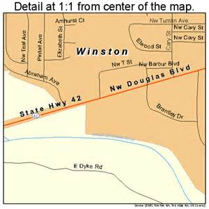 winston oregon map 4183400
