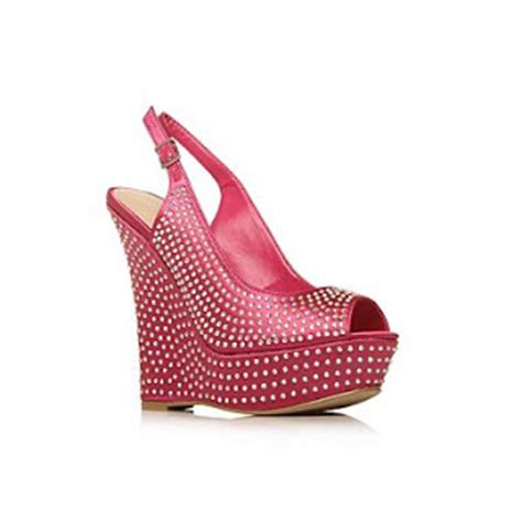 Wedges Pin Merak 4 5cm unique pink high heel wedge wedges gallery