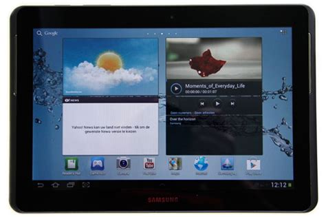 Tablet Samsung Di Erafone review samsung galaxy tab 2 10 1 gt p5110 gadgetgear nl