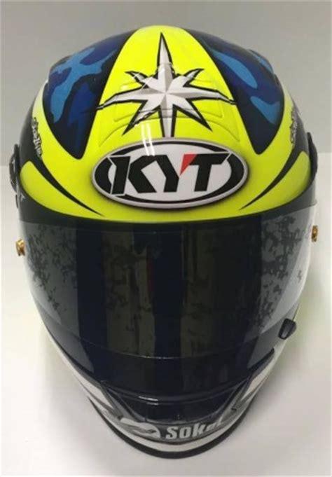 Helm Kyt Warna Biru helm kyt aleix espargaro keren selaras dengan livery