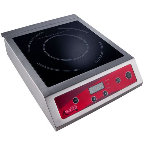Countertop Induction Cooker by Avantco Ic3500 Countertop Induction Range Cooker 208