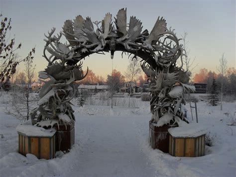 Moose Rack by Moose Rack Arch Winter By Ironcross13 On Deviantart