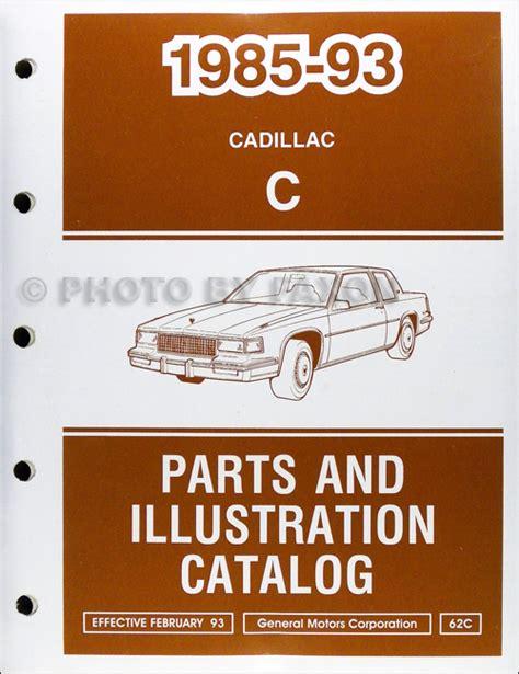auto repair manual free download 1993 cadillac sixty special regenerative braking 1992 1993 cadillac deville fleetwood and sixty special repair shop manual