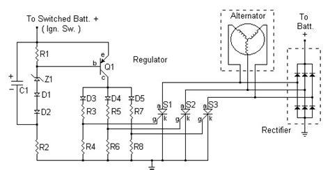 diy voltage regulator rectifier