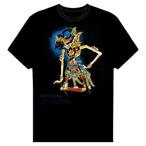 Bros Jumbo Bunga Batik Hijau Murah kaos wayang gatotkaca toko grosir termurah