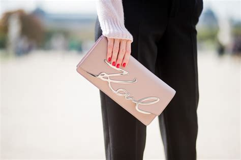 Karl Lagerfeld Says Get A Bag Perhaps From His New Purse Line by Karl Lagerfeld Bag Alexandra Lapp