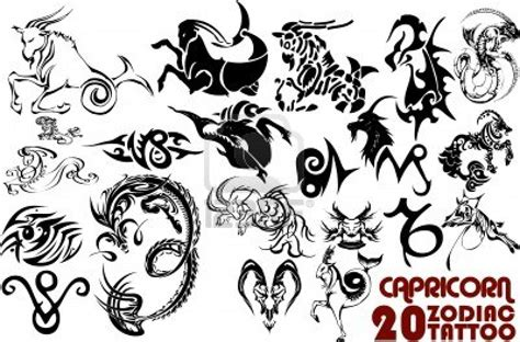 capricorn zodiac symbol tattoo design capricorn tattoos and designs page 23