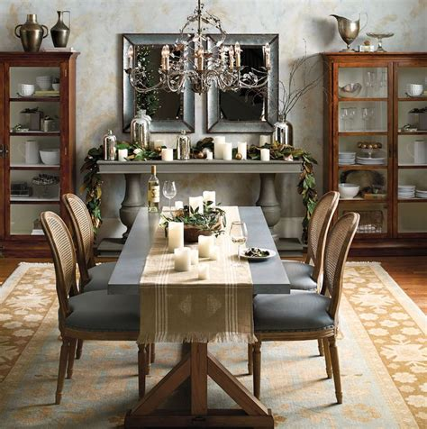 dining room decorating ideas warm and colors