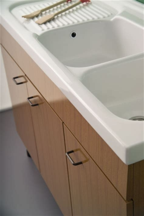 lavello a due vasche lavello in ceramica 120x50 a due vasche per mobile serie
