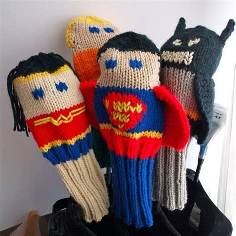 knit golf covers knitted golf club covers lol it s all about me