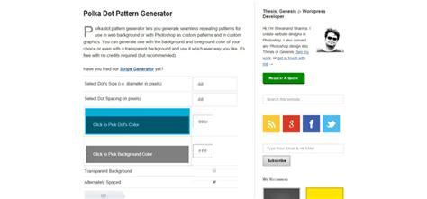 dot pattern generator free pattern generator for designers code geekz