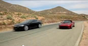 All Electric Tesla Image Tesla All Electric Model S Sedan And Roadster