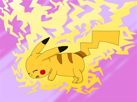 Shock Thunder The Gallery For Gt Pikachu Thundershock