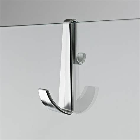Bathroom Door Towel Hanger by Bathroom Frameless Shower Enclosure Towel Hook Hanger In Chrome Finish Ebay